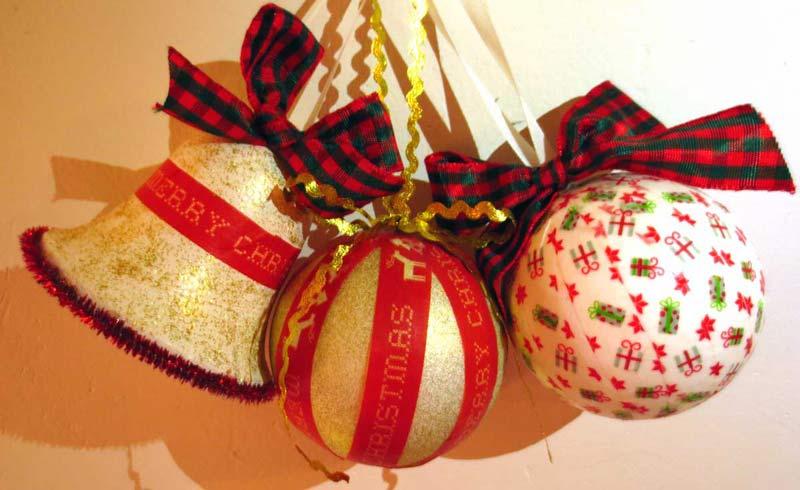 Vianočné ozdoby z polystyrénu