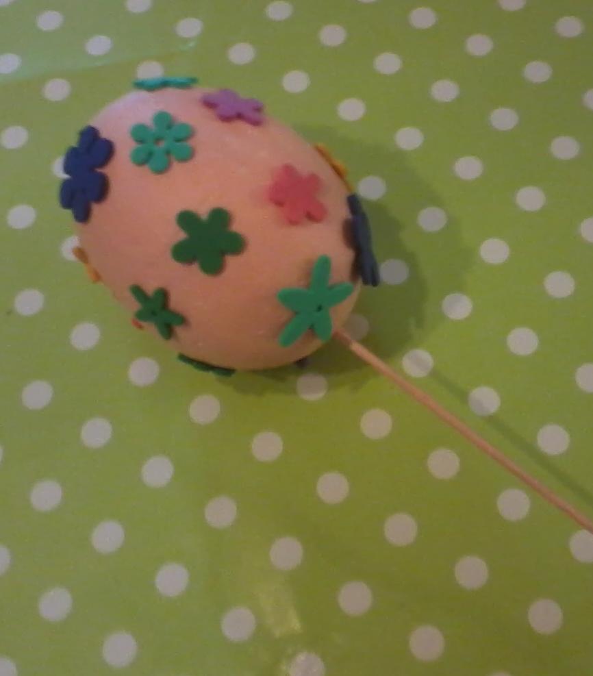 Polystyrénové vajíčko - Zojka
